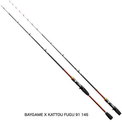 シマノ ベイゲーム X カットウフグ 82 155 ベイトロッド