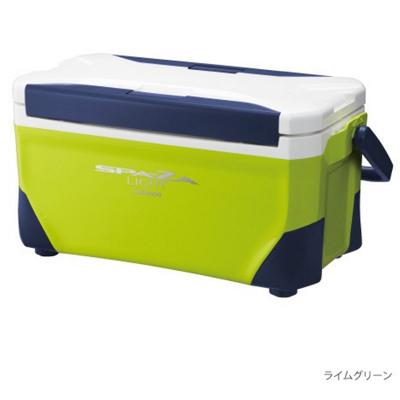 シマノ SPA-ZA LIGHT 250[スペーザ ライト 250] LC-025M ライムグリーン クーラーボックス