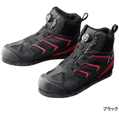 SHIMANO dry shield, 3D cut pin felt shoes (higher frequency elimination type) FS 085P black
