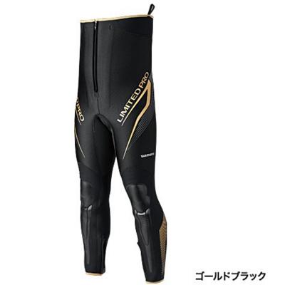 シマノ リミテッドプロ・タイツ TI-151P ゴールドブラック