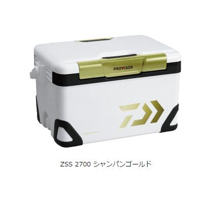 ダイワ プロバイザー HD ZSS 2700 シャンパンゴールド 容量:27リットル クーラー