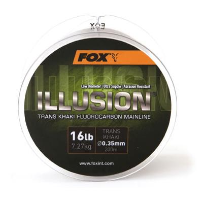 【コンビニ受取可】フォックス Illusion Mainline Trans Khaki 16lb/7.2kg 600m イリュージョン メインライン 884CML140