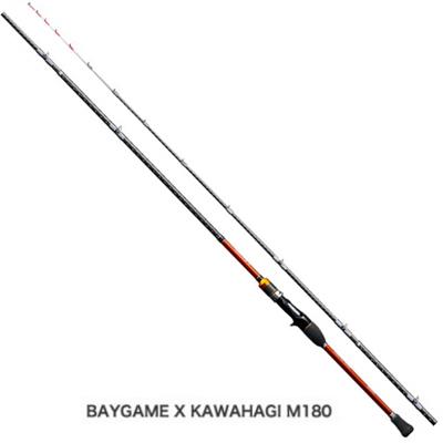 シマノ ベイゲーム X カワハギ M180 ベイトロッド