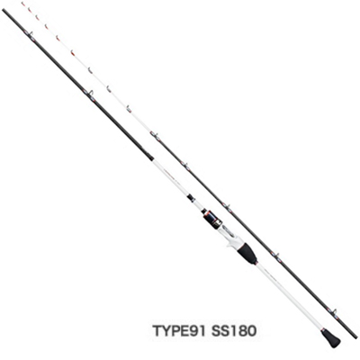 Shimano灯游戏CI4+快板TYPE91 SS180减弱鱼竿