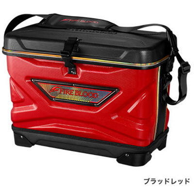 シマノ TOUGH&WASH COOL BAG LIMITED PRO BA-102P ブラッドレッド 36L