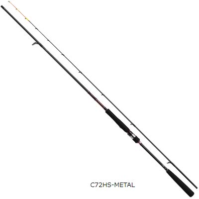ダイワ 紅牙 AGS C72HS-METAL スピニングロッド