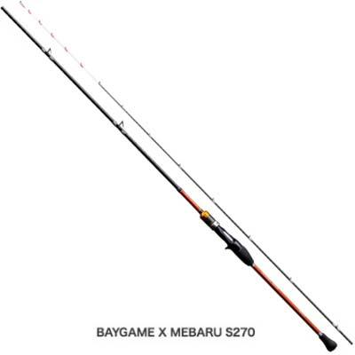 シマノ ベイゲーム X メバル[BAYGAME X MEBARU] S300 両軸ロッド