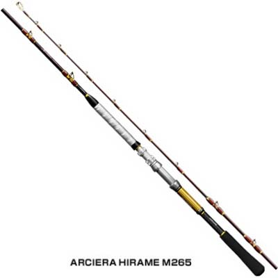 シマノ アルシエラ ヒラメ[ARCIERA HIRAME] M265 両軸ロッド
