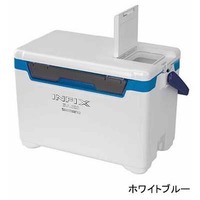 シマノ INFIX BASIS 270[インフィクス ベイシス 270] UI-027Q ホワイトブルー クーラーボックス