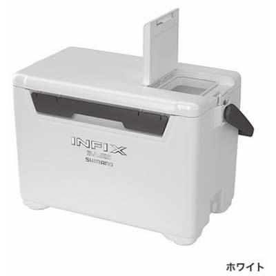 シマノ INFIX BASIS 270[インフィクス ベイシス 270] UI-027Q ホワイト クーラーボックス