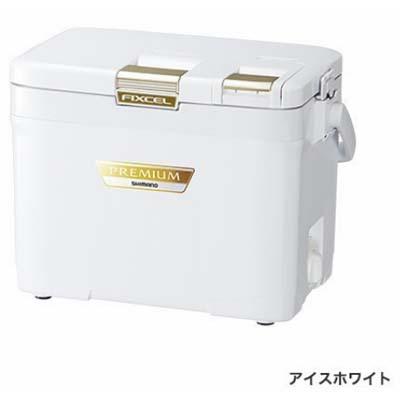 シマノ FIXCEL PREMIUM 120 [フィクセル・プレミアム 120] ZF-012R アイスホワイト クーラーボックス