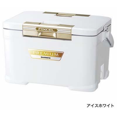シマノ FIXCEL PREMIUM 300 [フィクセル・プレミアム 300] ZF-030R アイスホワイト クーラーボックス