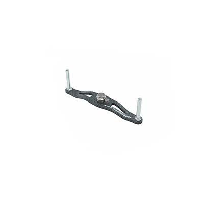ZPI OS92D-GM オフセットハンドル 92mm ダイワ用 ガンメタ