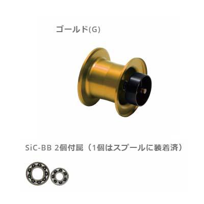 ZPI ダイワ用PGスプール NRC001PG-G ゴールド