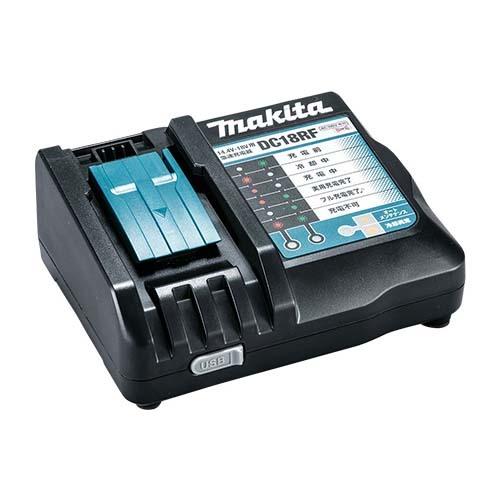 現場の仕事が捗ります 国内純正品は安心安全 是非 ご検討を マキタ Makita 急速 贈与 国内送料無料 DC18RF 充電完了メロディ付 14.4V-18V用 数量限定 USB端子搭載 充電器