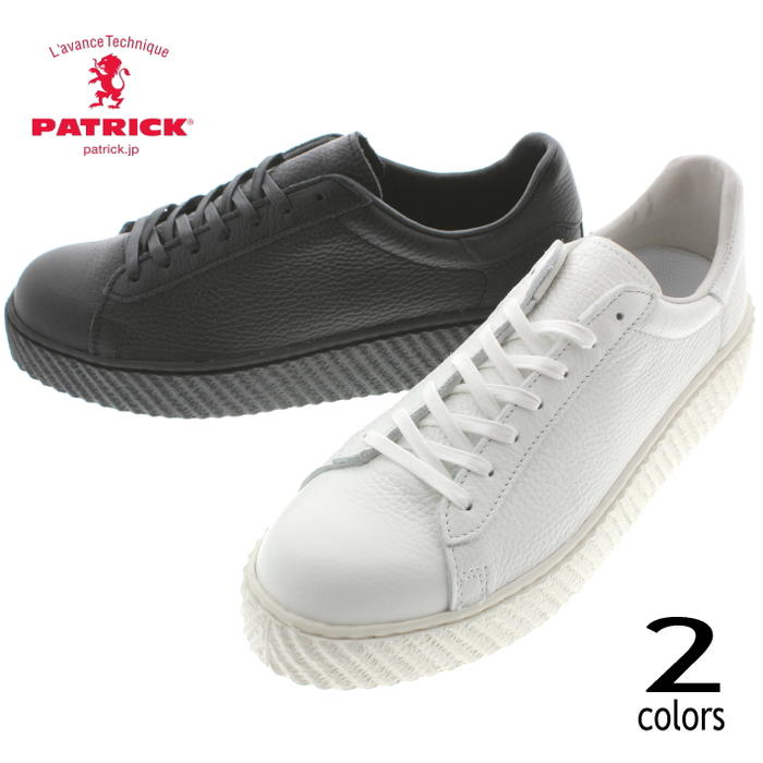 交換・返品送料無料 パトリック PATRICK スニーカー エンディコット ENDICOTT ホワイト(WHT/718020) ブラック(BLK/718021) 【FNOH】