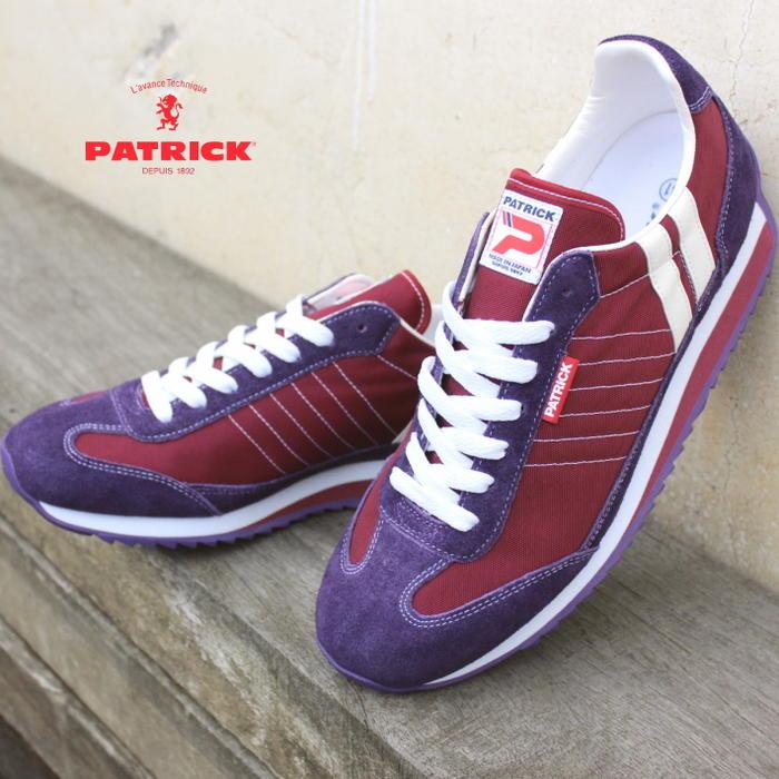 交換・返品送料無料 定番 パトリック PATRICK マラソン MARATHON ボルドー BRD 9427