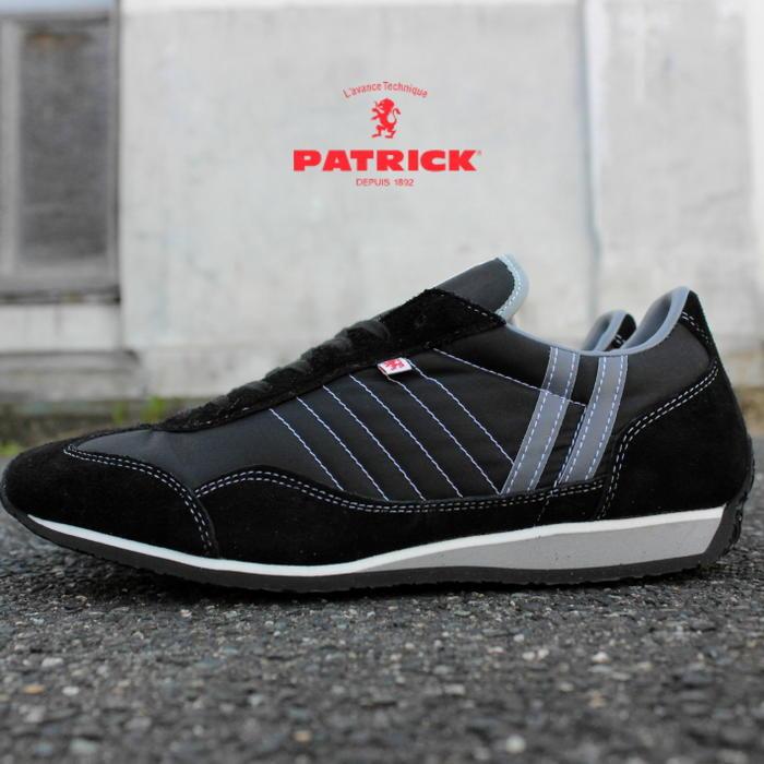 交換・返品送料無料 定番 パトリック PATRICK スニーカー スタジアム STADIUM ブラック BLK 23011