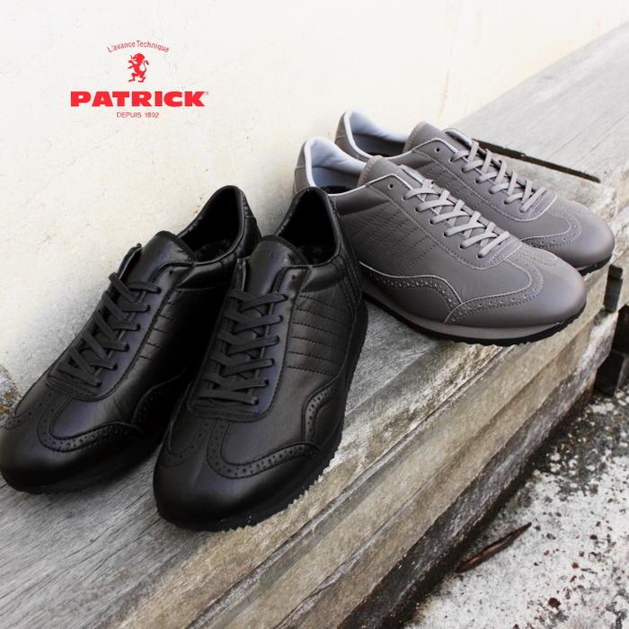 交換・返品送料無料 パトリック PATRICK スニーカー ティンカー ウォータープルーフ TINKER-WP ブラック BLK (530961) グレー GRY (530964)【FMFF】