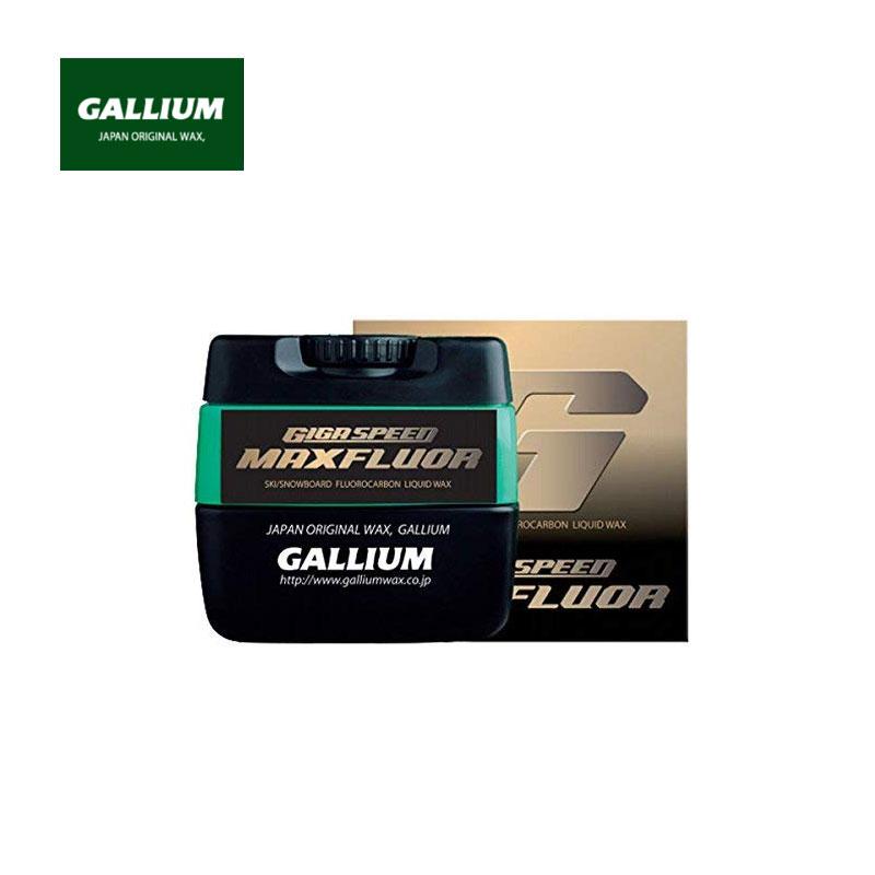 クーポン使用で200円オフ!!ガリウム スキーワックス GS3301GIGA SPEED Maxfluor ギガスピードマックスフルオールクロカン XCスキー アルペン スノボ