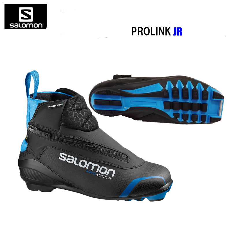 Salomon cross country SKI boots SRACE CLASSIC PROLINK JR 405565 2018 19MODEL