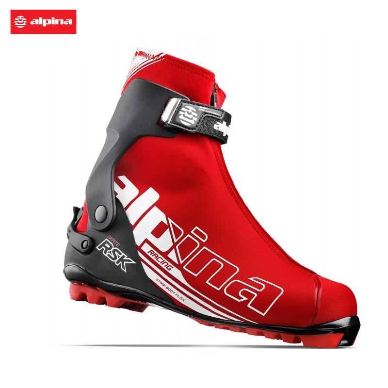 アルピナ クロスカントリースキーブーツRSK SKATE レーシング スケーティングクロカン XCスキー ノルディック5157-1
