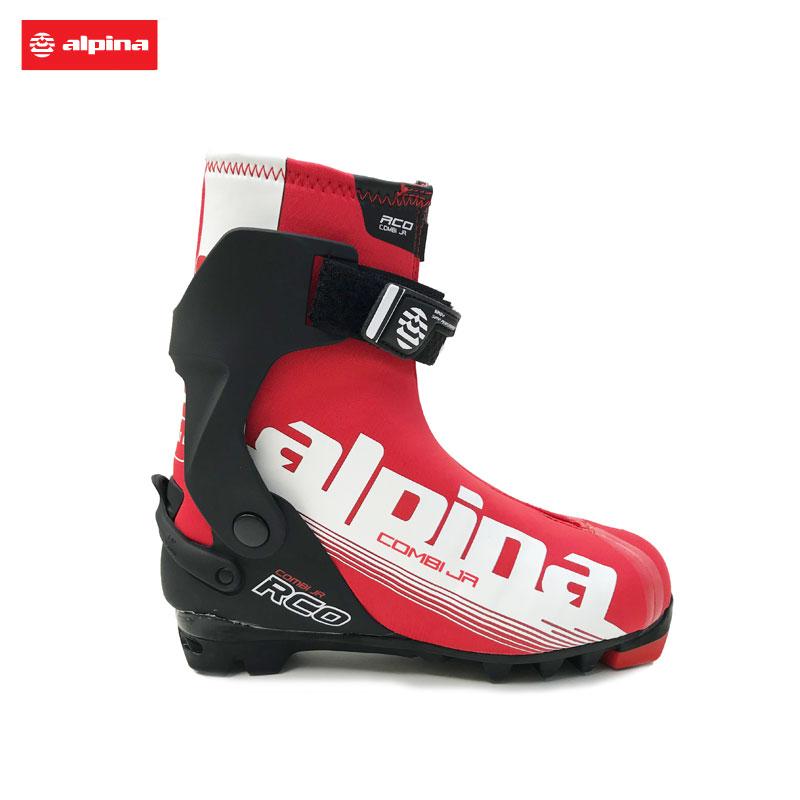 アルピナ ジュニアクロスカントリースキーブーツR COMBI JR コンビ5972-1 クラシカル スケーティングクロカン XCスキー レーシング