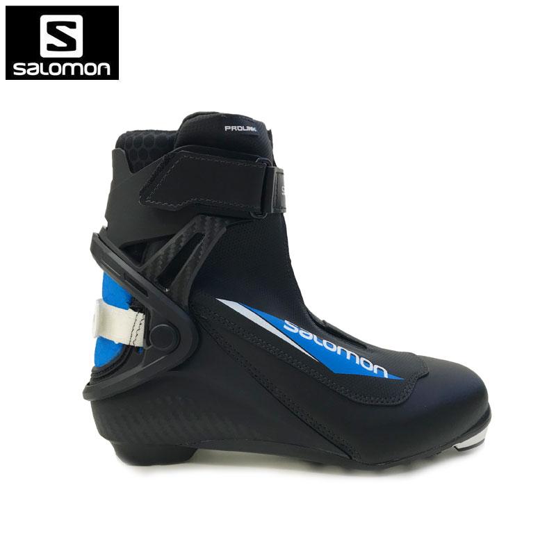 サロモン ジュニアクロスカントリースキーブーツS/RACE SKATE PROLINK JR スケート スケーティングXCスキー ノルディック 408423