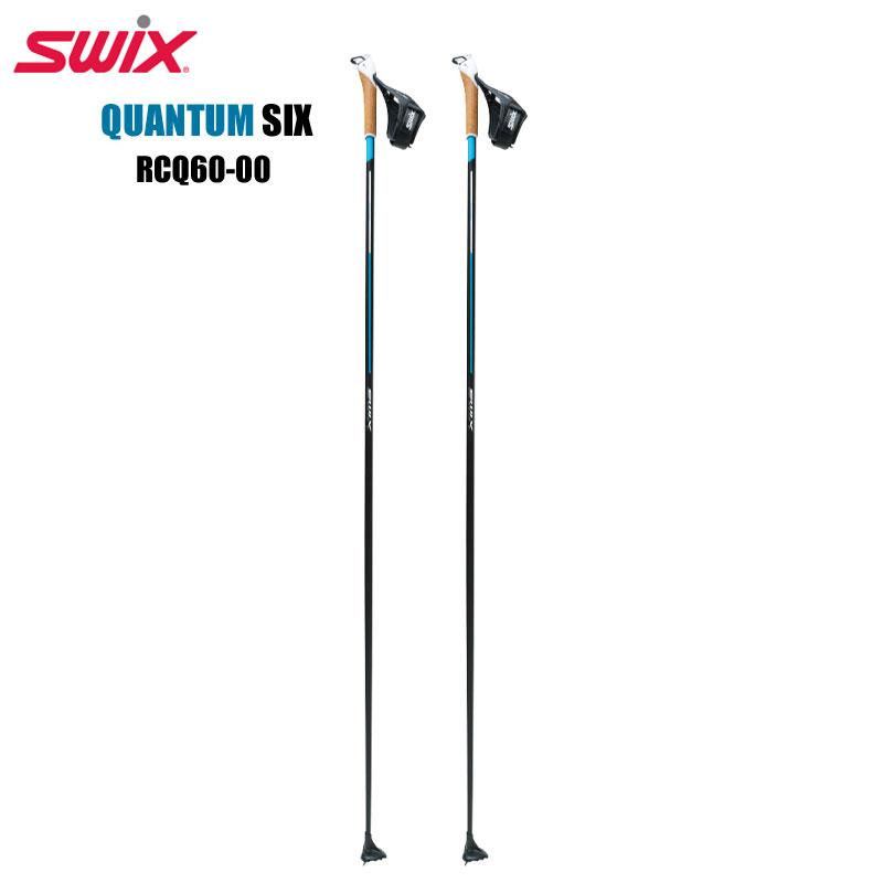 SWIXクロスカントリースキーポールクアンタム6QUANTUM SIXRCQ60-002018-19MODEL