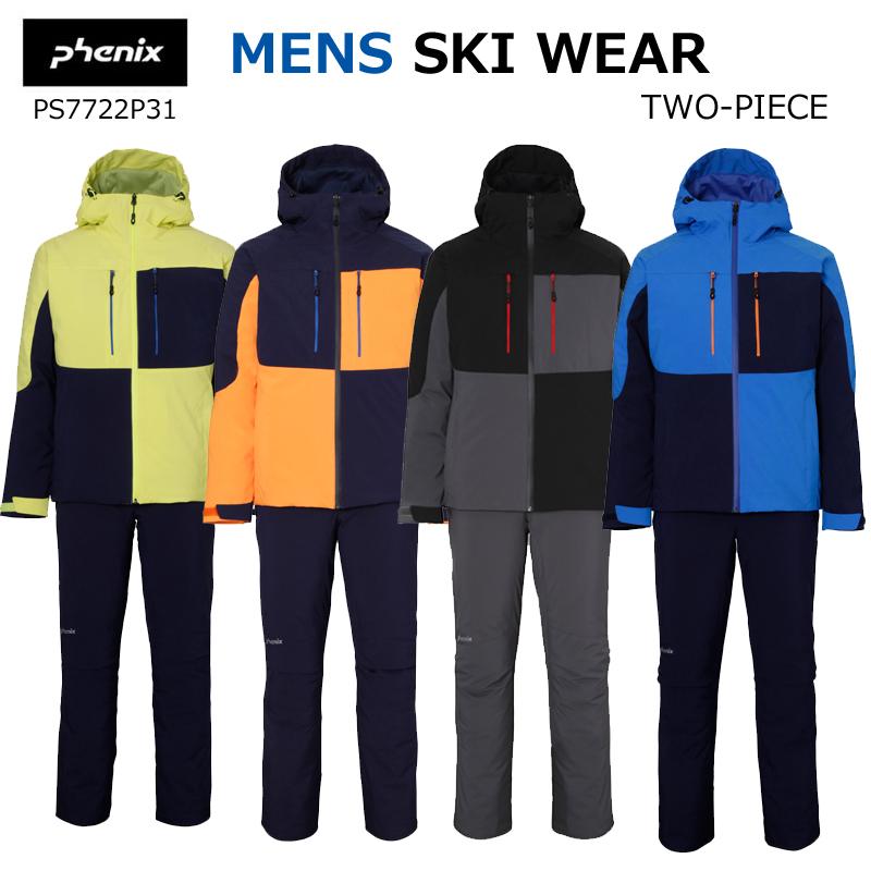 【送料無料】phenix フェニックスメンズ スキーウェアミックスドスノーワーク ツーピースPS7722P31