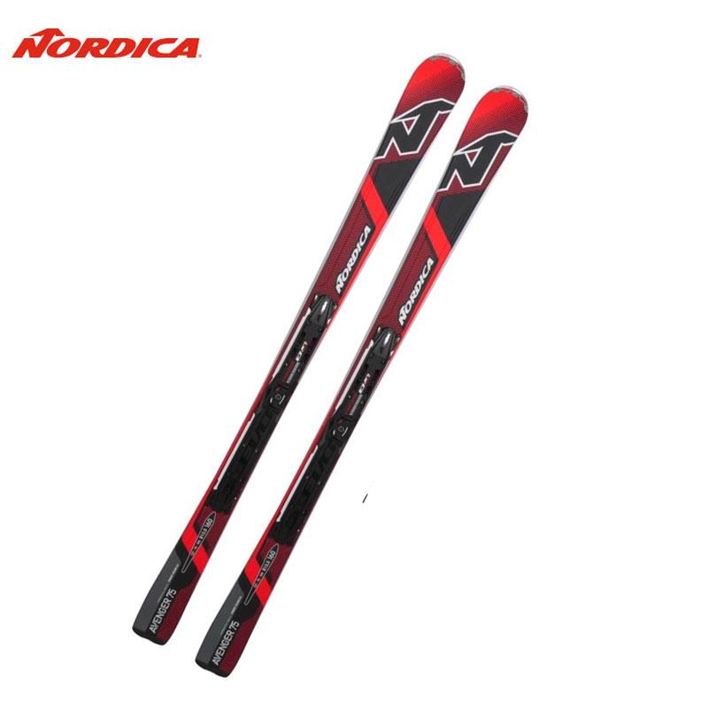 冬物クリアランス!!ノルディカ スキービンディング2点セット AVENGER 75 CA EVOスキー板 金具付き 0A5075 160cm アルペンスキー