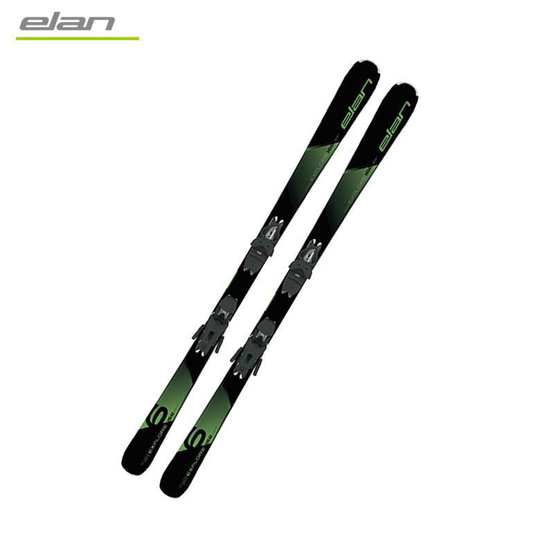 エラン スキービンディング2点セットEXPLORE 6 GREEN LIGHT SHIFT EL9.0 GWABPFFV19 アルペンスキー