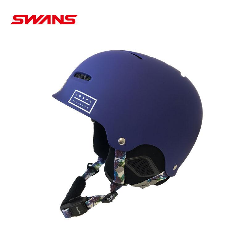 クーポン使用で200円OFF!!【あす楽】【旧モデル特別価格品】 SWANS スワンズスキーヘルメットHSF-200-MNV マットネイビー