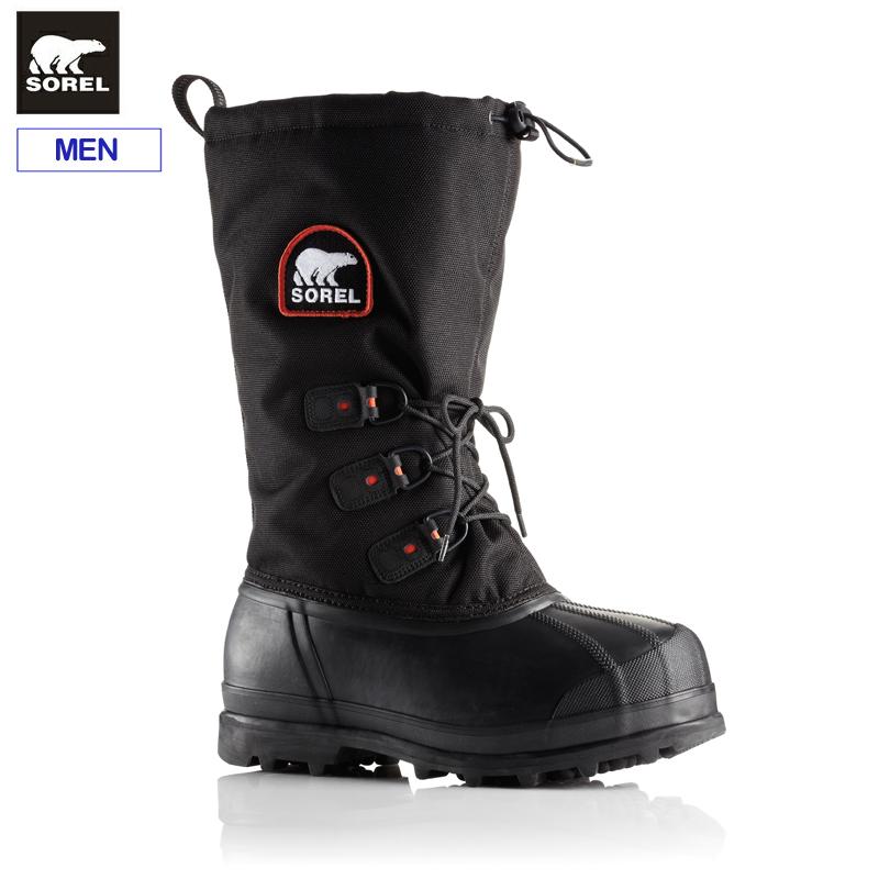ソレル メンズ ウィンターブーツグレイシャーXTNM2130スノーブーツ 防寒ブーツ 防水