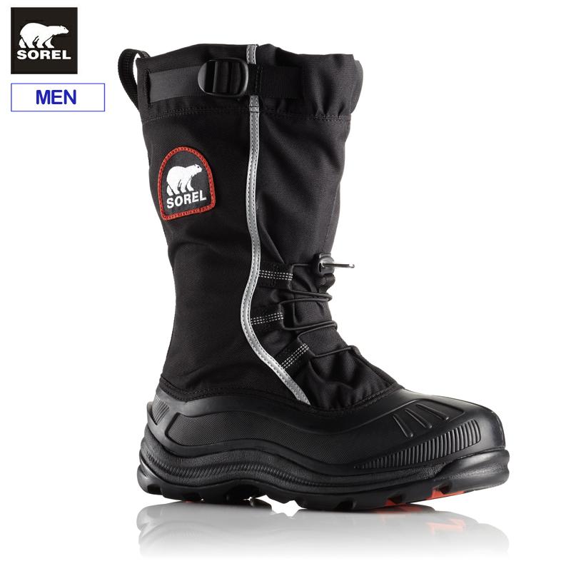 ソレル メンズ ウィンターブーツアルファパックXT NM2127スノーブーツ 防寒ブーツ 防水