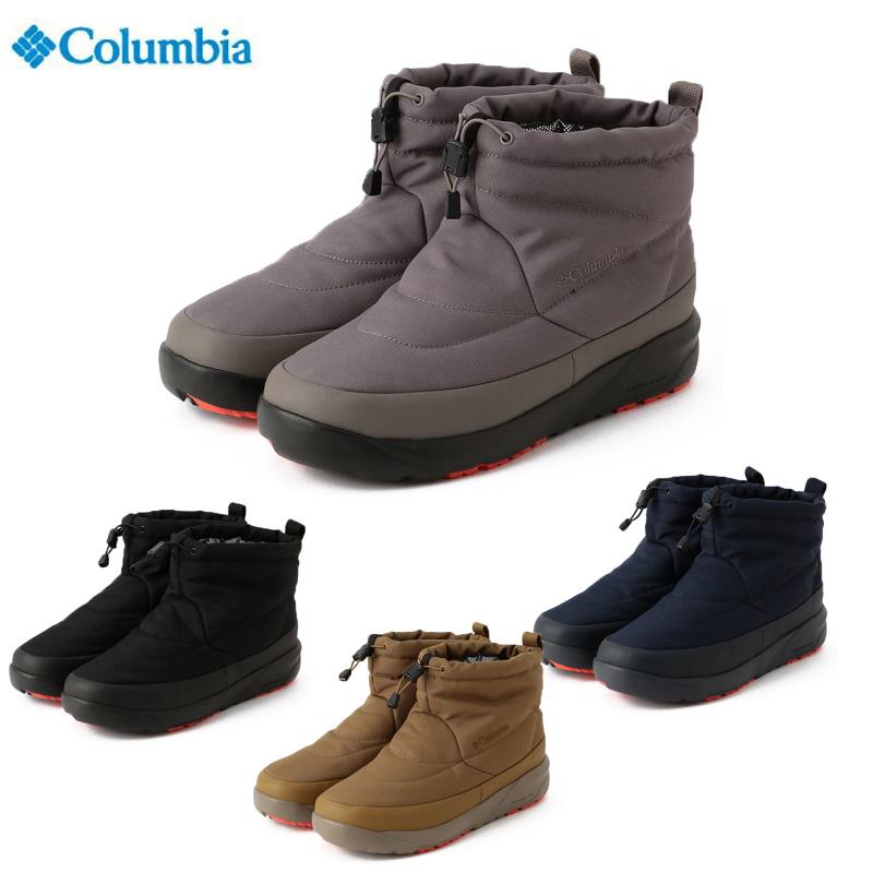 2020秋冬 Columbia コロンビア 倉庫 メンズ ブーツ スピンリールミニブーツ 2 買い取り オムニヒート YU0336 202010B アドバンス ウォータープルーフ スノーブーツ ウィンターブーツ