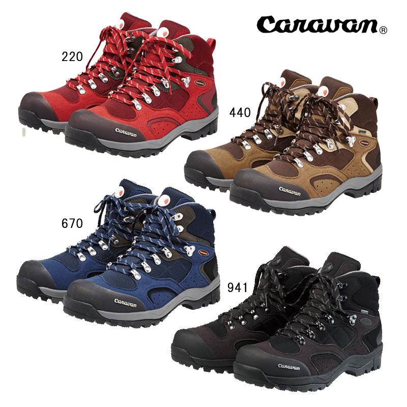 【即納可能】【送料無料】Caravan キャラバン トレッキングシューズ C102S GORE-TEX ゴアテックス 0010106
