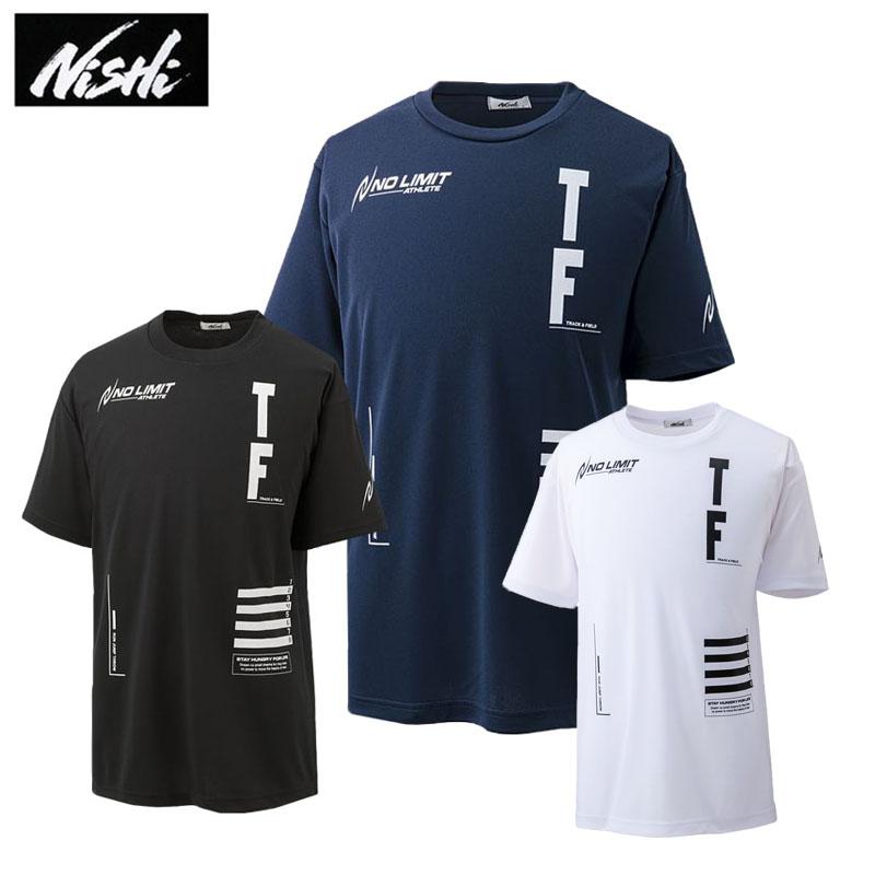 ニシスポーツ ※ラッピング ※ 半袖Tシャツ メンズ レディース アスリートプライドTシャツ 高価値 TRACKFIELD N63-088 スポーツウェア 2021春夏 202103C 陸上 NISHI