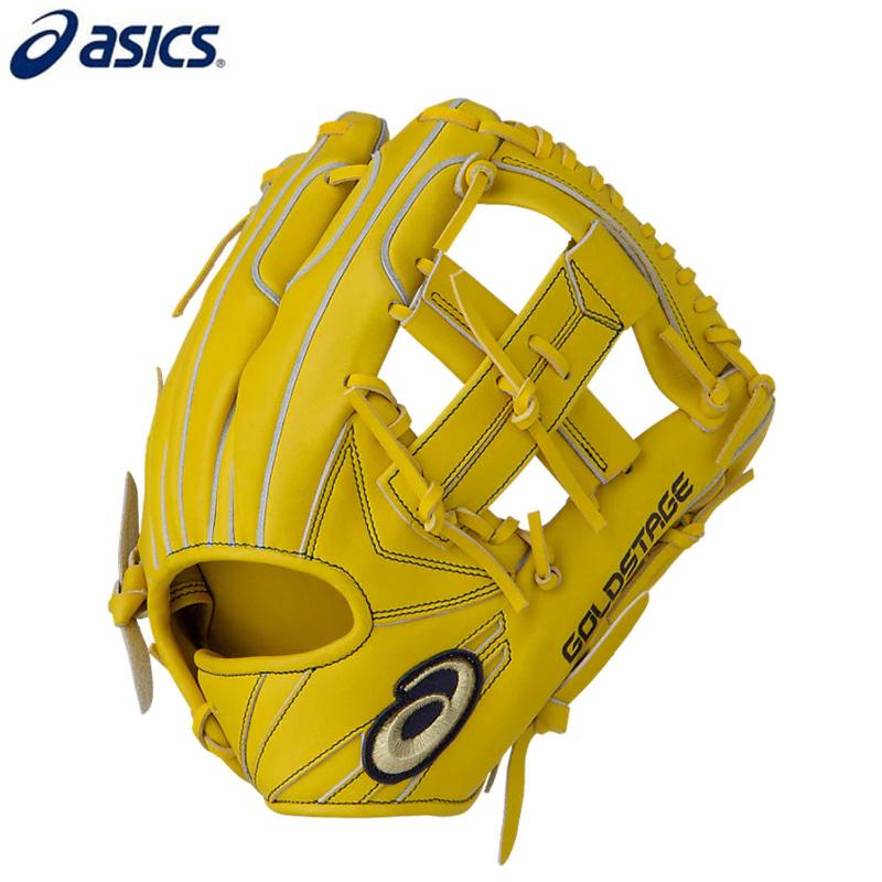 アシックス 軟式野球グローブ ゴールドステージi-Pro 内野手用 3121A410 LH(右投げ用)