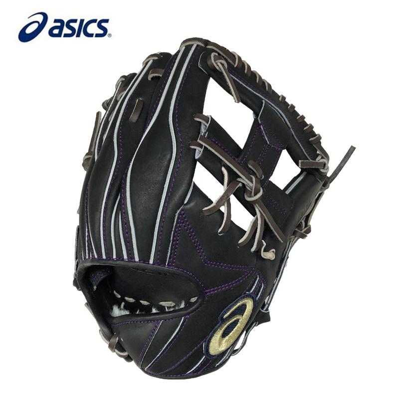 【あす楽】アシックス 軟式野球グローブ ゴールドステージi-Pro 内野手用(ヨコ) 3121A556 LH(右投げ用)
