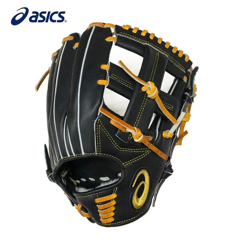 【あす楽】アシックス 軟式野球グローブ ゴールドステージ 内野手用(ヨコ) 3121A570 LH(右投げ用)