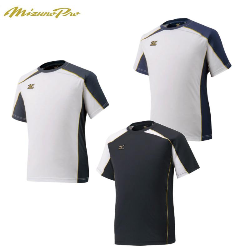 ミズノプロ Tシャツ 野球 半袖 発売モデル Tシャツ 12JA6T01 2020春夏 MizunoPro 賜物 202108A