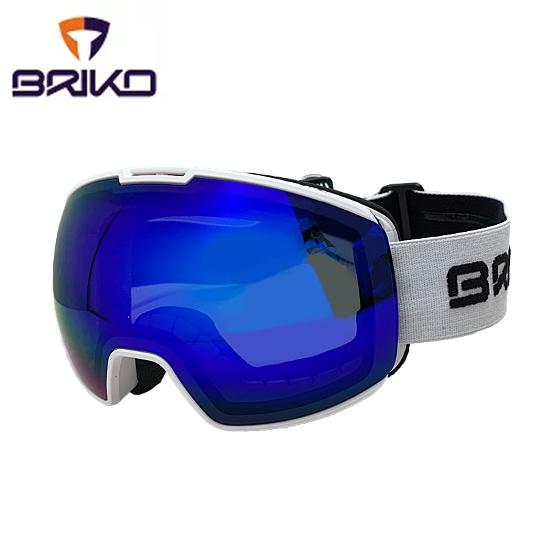 ブリコ スキーゴーグル ニーラ 7.6 FIS 2002JC0 924(ホワイト) スキー スノーボード