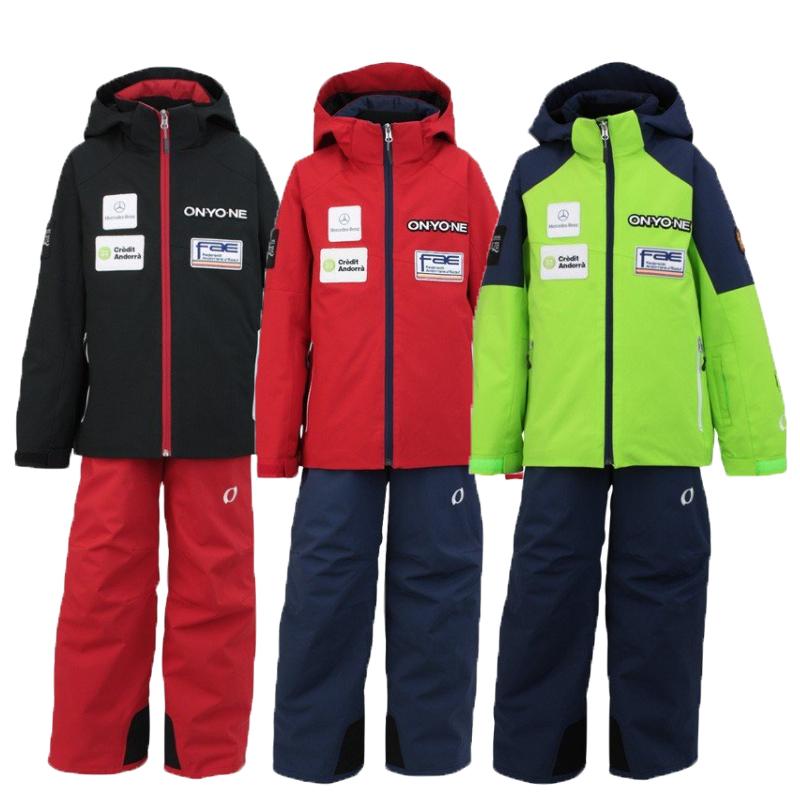 アンドラナショナルチームのジュニアスーツモデル ジュニア用アルペンSKIジャケット パンツセット ジュニアのアルペンSKIレーサーにオススメです スキースーツサイドオープンファスナーONS703S22017-18MODEL レーシング 通販 激安◆ アルペン 在庫処分 オンヨネONYONEジュニア用