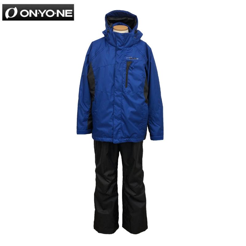 冬物クリアランス!!ONYONEオンヨネメンズ B体 スキーウェアRNS91030スキースーツ 上下セットゆったりサイズ ゆったりシルエットワイドサイズ 大きめサイズ