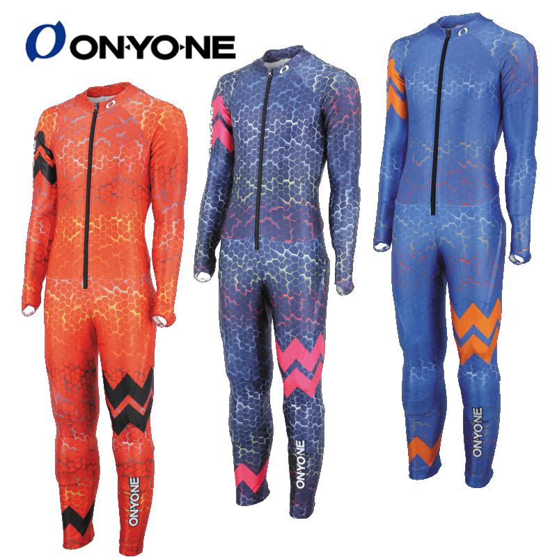 オンヨネ アルペン スキーウェア ジュニア ジュニアGSレーシングスーツ(Not FIS)ONO72078 スキーワンピース スキースーツ レーシング