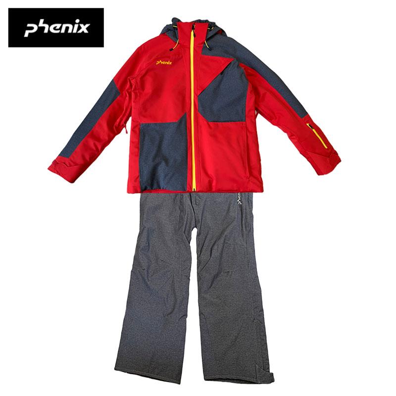 【訳あり特別価格品】フェニックス メンズ スキーウェア 上下セット マッシュ4ジャケット ハクバレギュラーパンツ PS872OT33 PS872OB31 スキー スノーボード 防寒 防雪