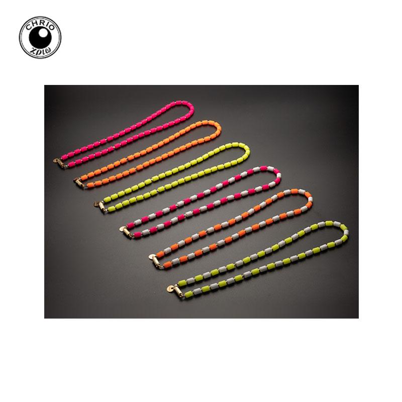 自分の限界を超えろ。発色抜群のネオンカラーバージョン CHRIO クリオ インパルス ネオ ネックレス Impulse Neo Necklace S 43cm 単色カラー2色カラー