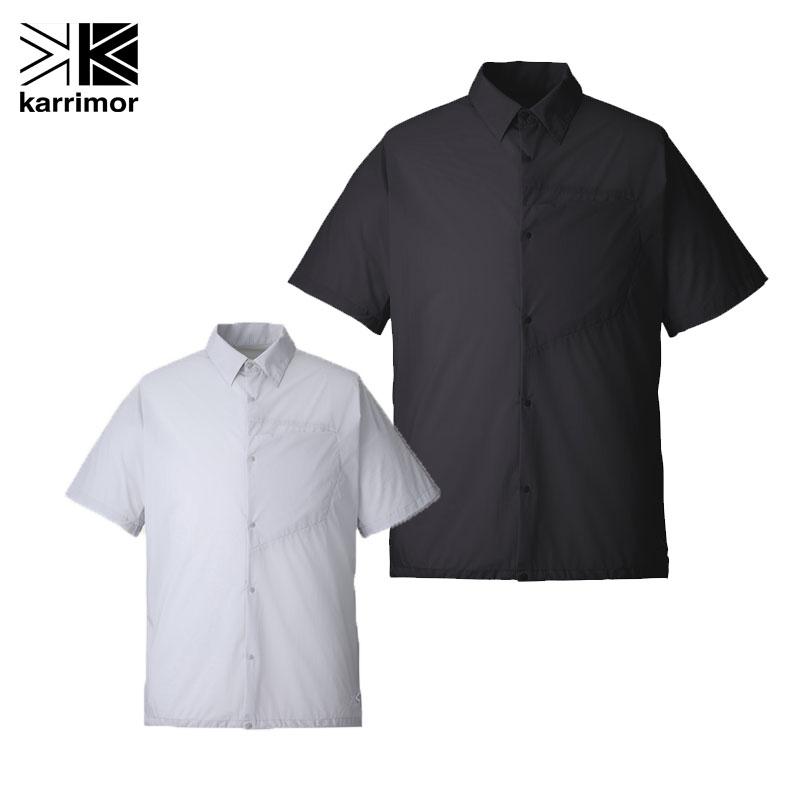カリマー 半袖シャツ アウトドアシャツベクターウィンドシャツ メンズ 101011