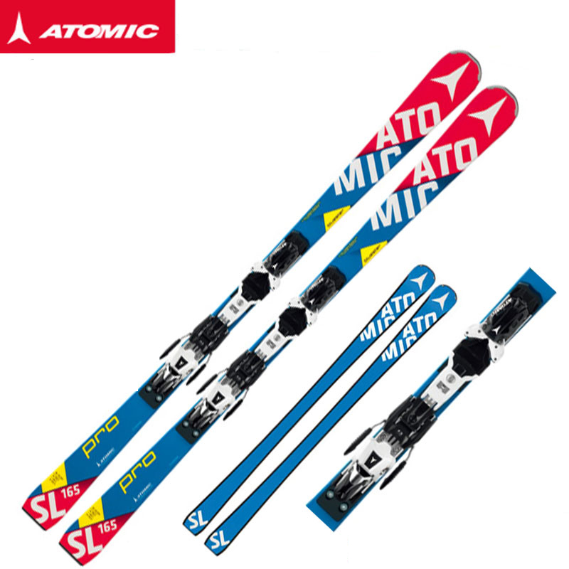 冬物クリアランス!!アトミック(ATOMIC)  スキー/ビンディング 2点セット BLUESTER SL PRO + X12VAR 2015-16